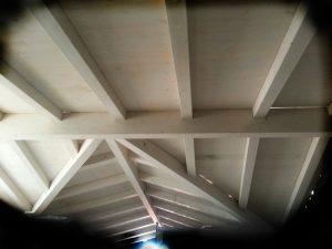 גג עץ רב שיפועי במבשרת ציון