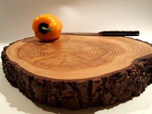 משטח עץ לסירים חמים